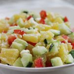 Pineapple and Cucumber Salsa