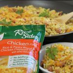 Skillet Ham Rice Cheese Side Dish with Knorr