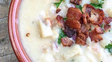 Creamy New England Clam Chowder