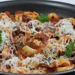 Ground Beef and Tortellini
