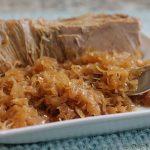 Dutch Oven Pork and Sauerkraut