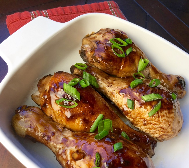 balsamic chicken legs