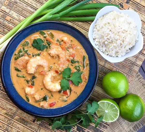 Thai Coconut and Shrimp Soup