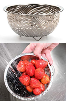 favorite product of the week metal colander