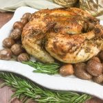 baked whole chicken with lemon and pepper