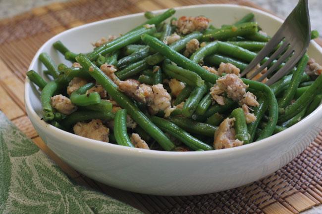 cajun green beans