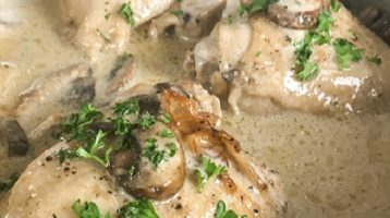 Keto Creamy Chicken