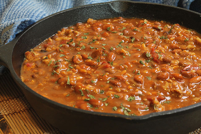 Sausage Rice and Beans