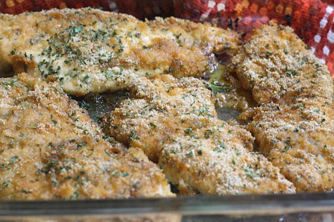 Baked bbq ranch chicken