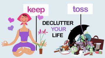 decluuter your life