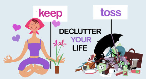 decluuter your life