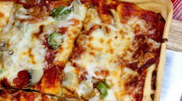 Gluten Free Pan Pizza