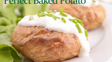 Baked Potato without Foil