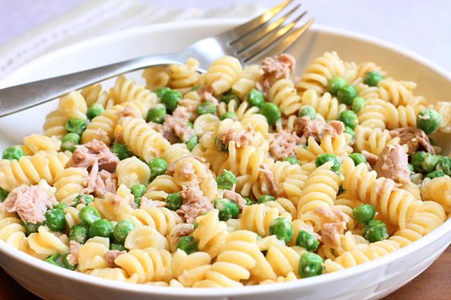 kids tuna pasta
